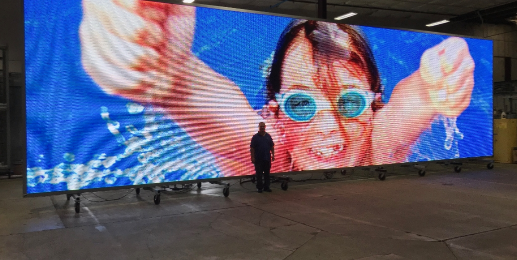 Earnest Products design and builds digital billboards.
