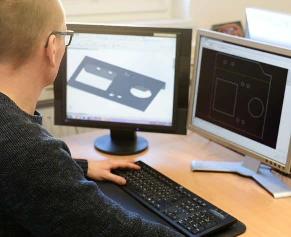 Earnest Products has the ability to design products from scratch using cad drawings.